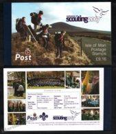 Isle Of Man 2007 Yvert C1374, Organizations. Scouts, Centenary Of Scouting 2007 - Prestige Booklet - MNH - 1952-.... (Elizabeth II)