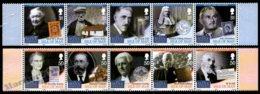 Isle Of Man 2008 Yvert 1487-1496, Famous People. New Manx Worthies Personalities - MNH - 1952-.... (Elizabeth II)