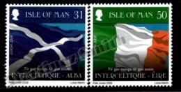 Isle Of Man 2008 Yvert 1467-1468, Europa. Scottish & Irish Flags, Festival Interceltique Lorient 2008 - MNH - Isola Di Man