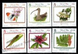 Isle Of Man 2008 Yvert 1497-1502, Flora & Fauna. Manx Plants & Animals - MNH - 1952-.... (Elizabeth II)