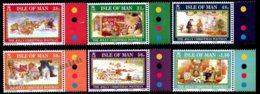Isle Of Man 2008 Yvert 1510-1515, Christmas. The Jolly Christmas Postman Drawings - MNH - 1952-.... (Elizabeth II)