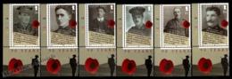 Isle Of Man 2008 Yvert 1503-1508, History. World War I, 90th Anniv Ending WWI. 90 Years Tab - MNH - 1952-.... (Elizabeth II)