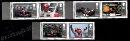 Isle Of Man 2009 Yvert 1522-1527, Famous People. Sports, Cars. Lewis Halmilton, Formula 1 Champion - MNH - 1952-.... (Elizabeth II)