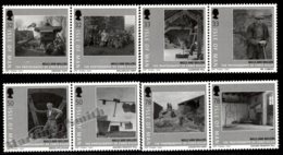 Isle Of Man 2009 Yvert 1536-1543, Agriculture. Mills & Millers, Pictures By Chris Killip - MNH - 1952-.... (Elizabeth II)