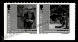 Isle Of Man 2009 Yvert 1546-1547, Agriculture. Mills & Millers, Pictures By Chris Killip - Adhesive Pair - MNH - 1952-.... (Elizabeth II)