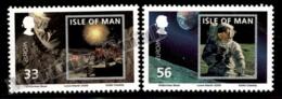 Isle Of Man 2009 Yvert 1556-1557, Europa. Space, 40th Anniv First Man On The Moon - MNH - 1952-.... (Elizabeth II)