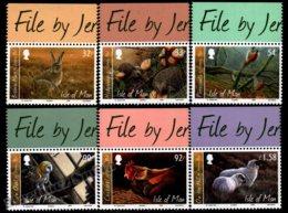 Isle Of Man 2009 Yvert 1580-1585, Fauna. Manx Animals, Jeremy Paul Paintings. File By Jer Tab - MNH - 1952-.... (Elizabeth II)