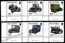 Isle Of Man 2010 Yvert 1644-1649, Cars. Ford Model T Centenary, Assorted Vehicles. Corner Border - MNH - 1952-.... (Elizabeth II)