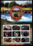 Isle Of Man 2010 Yvert BF 81, Trains. Manx Old Locomotives. Railways & Tramways - Miniature Sheet - MNH - 1952-.... (Elizabeth II)