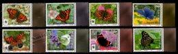 Isle Of Man 2011 Yvert 1696-1703, Fauna. Insects, Manx Butterflies - MNH - 1952-.... (Elizabeth II)