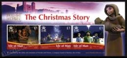 Isle Of Man 2010 Yvert BF 84, Christmas. Nativity Scenes - Miniature Sheet - MNH - 1952-.... (Elizabeth II)