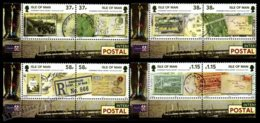 Isle Of Man 2011 Yvert 1730-1737, History. WW2, Letters & Postcards From Knockaloe Internment Camp. Corner Border - MNH - 1952-.... (Elizabeth II)