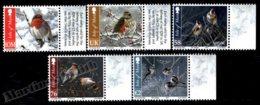 Isle Of Man 2011 Yvert 1757-1761, Fauna, Birds In Winter - MNH - 1952-.... (Elizabeth II)