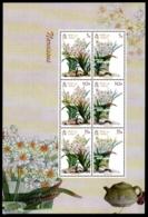 Isle Of Man 2011 Yvert 1750-1755, Flora. Flowers, Narcissus. Miniature Sheet - MNH - 1952-.... (Elizabeth II)