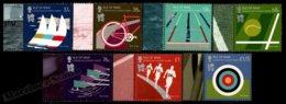 Isle Of Man 2012 Yvert 1772-1778, Sports. London 2012 Olympic Games, Sport Disciplines - MNH - 1952-.... (Elizabeth II)