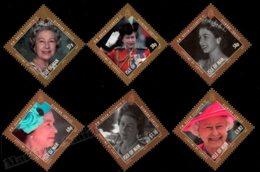Isle Of Man 2012 Yvert 1780-1785, Royals. Queen Elizabeth II Diamond Jubilee, 60th Anniv Accession Throne- MNH - 1952-.... (Elizabeth II)