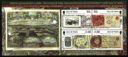 Isle Of Man 2011 Yvert BF 90, History. WW2, Letters & Postcards From Knockaloe Internment Camp - Miniature Sheet - MNH - 1952-.... (Elizabeth II)