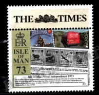 Isle Of Man 2013 Yvert 1903, Europa. Mail Vans, Isle Of Man Postal Independence - MNH - 1952-.... (Elizabeth II)