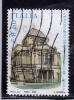 ITALIA REPUBBLICA ITALY REPUBLIC 2004 INAUGURAZIONE DEL TEMPIO MAGGIORE DI ROMA SINAGOGA € 0,60 USATO USED OBLITERE' - 2001-10: Usados