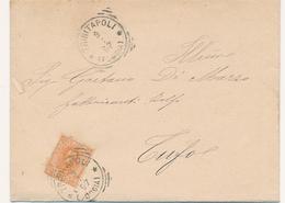 1897 TRINITAPOLI FOGGIA TONDO RIQUADRATO CON TESTO - 1878-00 Humbert I