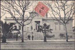 CPA Cannes, Palais De Justice, Gel. 1907 - Cannes