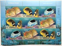 # Tonga 1998** Mi.1536-38  International Year Of The Ocean , MNH  [19;172] - Fische