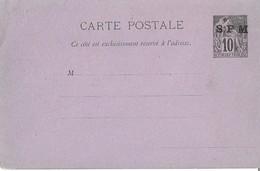 Entier Postal 10c Dubois Saint Pierre Et Miquelon - Alphée Dubois