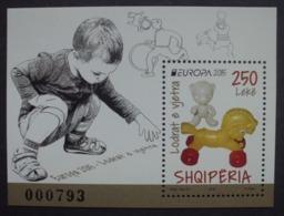 Albanien    BL   Historisches Spielzeug    Europa Cept   2015  ** - 2015