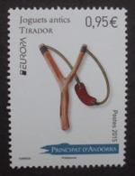 Andorra  FP     Historisches Spielzeug    Europa Cept   2015  ** - 2015