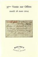 Roumet Mars 2014 Marques Postales - Army Postmarks (before 1900)