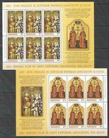 RM113 2013 ROMANIA SAINT EMPERORS CONSTANTINE HELEN #6707-8 MICHEL 58 EU 2KB MNH - Cristianismo