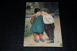 10124              EIN GEHEIMNIS - Children - Enfants - Kinder - Bambinos - Künstlerkarten