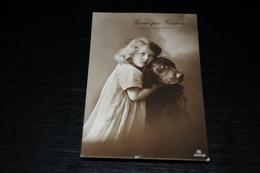10125              ZWEI GUTE FREUNDE - Children - Enfants - Kinder - Bambinos - Dog - Künstlerkarten