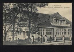 DF1152 - NIEDERSACHSEN - SCHARMBECK - LANDWIRTSCHAFTL. WINTERSCHULE U. TURNHALLE - Germania