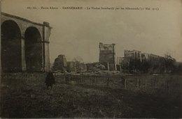 Dannemarie Le Viaduc Bombardé Par Les Allemands (31 Mai 1915) - Dannemarie
