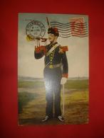 N°0938. WWI. CARTE BELGE ILLUSTRANT UN TROMPETTE D'ARTILLERIE. - Guerre 1914-18