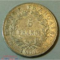 France Napoléon Ier - 5 Francs 1811 H La Rochelle - J. 5 Francs