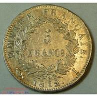 France - Ecu De 5 Francs Napoléon Ier 1812 I Limoges - Frankreich