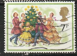 PIA - GRAN BRETAGNA : 1978 :  Natale : Canto Intorno All'albero Di Natale   -  (YV  876) - Cristianesimo