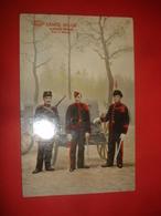 N°0943. WWI. CARTE BELGE MONTRANT LES 3 TENUES DE L'ARTILLERIE MONTEE BELGE. - Guerre 1914-18