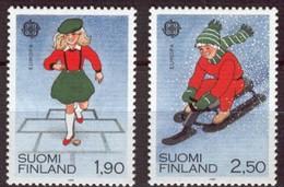 Cept 1989 Finlande Finland Suomi Yvertnr. 1042-4043 *** MNH Cote 6 € Jeux D' Enfants Kinderspelen - 1989