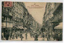 75 TOUT PARIS Carte Rare 1139 Le Faubourg St Denis Pris De La Porte Belle Animation 1906écrite Timbrée   D02 2020 - Arrondissement: 10