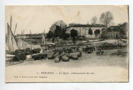 24 BERGERAC Embarquement Des Vins  Barriques  Port  - 10 Coll Astruc  -   écrite En 1917 Longuement    D02 2020 - Bergerac
