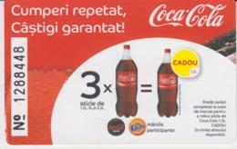 Romania - Coca Cola - Ticket Voucher - Serial Number - See Verso - Tickets D'entrée