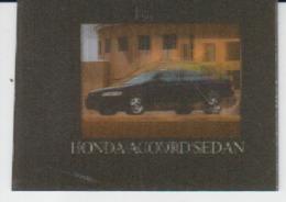 Trading Card - 3d Card - Car Auto Voiture - Size 47/35 Mm - Moteurs
