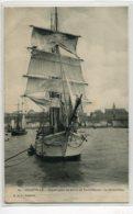 50 GRANVILLE Départ Voilier De PecheLA GRANVILLAISE Por Les Bancs De Terre Neuve  -No 69 R Du V   - 1910     D02 2020 - Granville