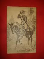 N°0948. WWI. CARTE ILLUSTRANT SA MAGESTE LE ROI DES BELGES ALBERT PREMIER A CHEVAL. - Guerre 1914-18