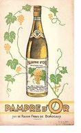 Buvard Pampre D'Or - Jus De Raisins Frais De Bordeaux - Alimentaire