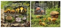 Niger. 2019 Mushrooms. (0611) OFFICIAL ISSUE - Niger (1960-...)