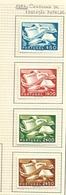 Portugal Complete Serie 1954 Campanha De Educação Popular New With Hinge - 1910-... Republic